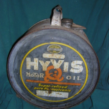1926 HYVIS ROCKER CAN - Petroliana