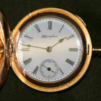 "Hampden, Dueber, ""Molly Stark"", pocket watch - Pocket Watches"