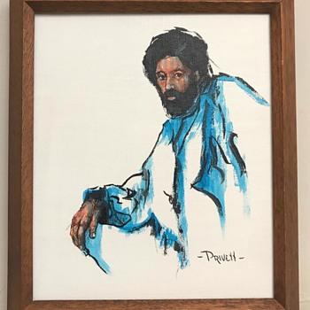 Artist Privett 1970's? - Fine Art