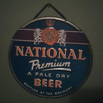 National Premium Baltimore  Maryland  - Breweriana