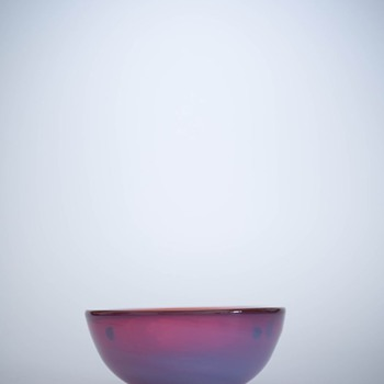 Small Red Cenedese Bowl