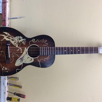 1940s Regal Cowboy guitar - Guitars