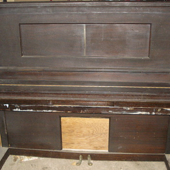 1924 Hampton player piano - Musical Instruments