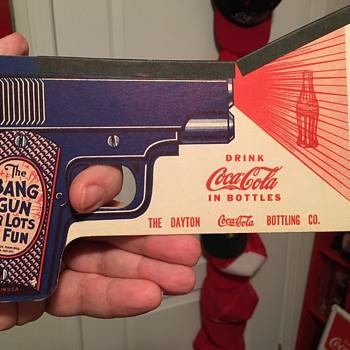 1950's Coca-Cola 'Bang Gun' - Coca-Cola