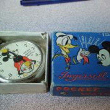 Mickey Mouse Pocket Watch and box