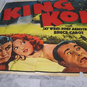 King Kong (33) 24 Sheet - from the ReRelease 1952 - Movies