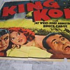 King Kong (33) 24 Sheet - from the ReRelease 1952