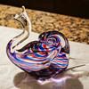 Roberto Moretti Signed Glass Snail