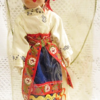 Expo 58 souvenir doll - Dolls
