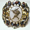 Antique Swiss Enamel Bracelet