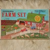 Marx Modern Farm Playset No. 3931 Almost Unused