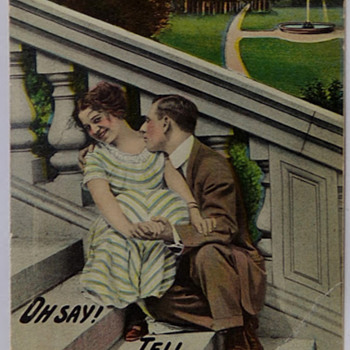 Oh, Say! Tell That to Sweeny - Postcards