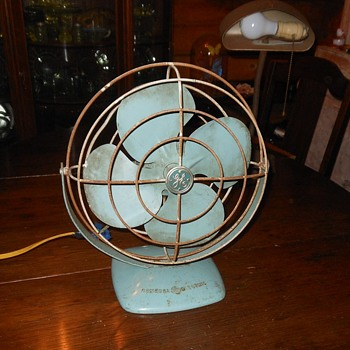 GE Personal FanModel F11A103 1950s