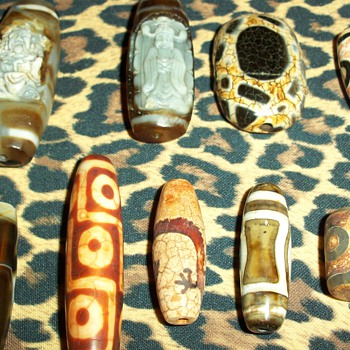 My Unique Collection Of The Mysterious Dzi Beads - Asian