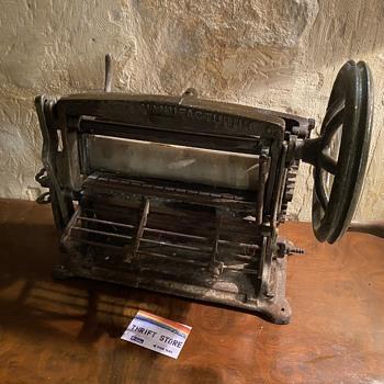 Singer Pleating or Kilting Machine Model 49K1,  - Sewing