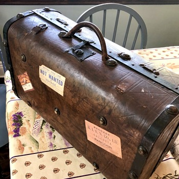 Antique Suitcase 1860's - Bags