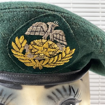 Wool Green Beret - Military and Wartime