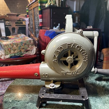 Hand-cranked Blower - Tools and Hardware