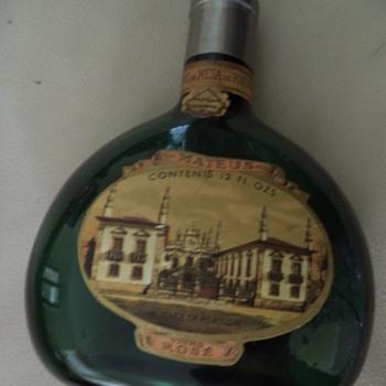 1970s Mateus Rose bottle - Bottles