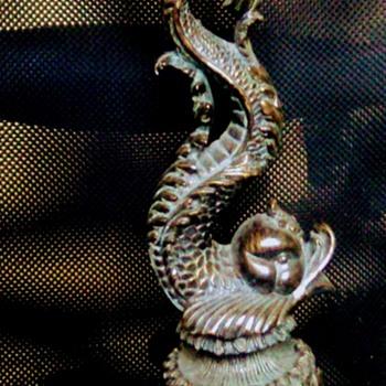 Serpent Brass lamp   - Animals