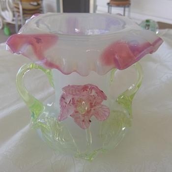 Kralik Flower Vase c. 1900  - Art Glass