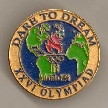 1996 - Atlanta Olympic Games Pin - Sporting Goods