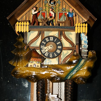 German Cuckoo Clock - Clocks