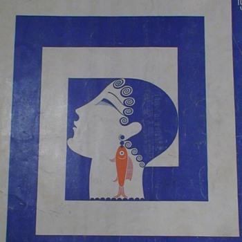 Harper's  Bazar July 1929 Erte   - Paper