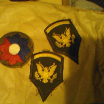 1950s US Military Patches