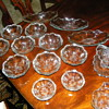 Very old Pressed Glass Bowls/Dishes