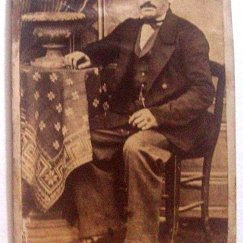 OCCUPATIONAL CDV, This Uniformed Man's Trade Is Yet Unidentified. Any Thoughts? - Photographs