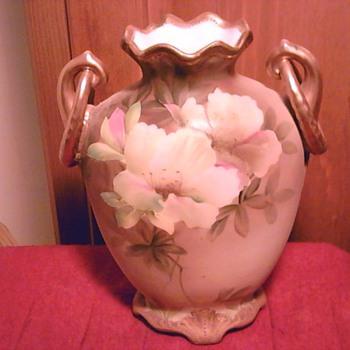 Nippon vintage hand painted vase.