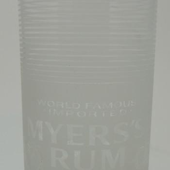 MEYER'S RUM Glass - RASTAL - Made in Germany - Glassware