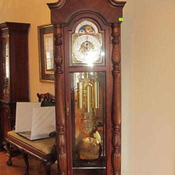 """""""1999 Turn of the Century"""" Ridgeway Grandfather Clock - Clocks"""