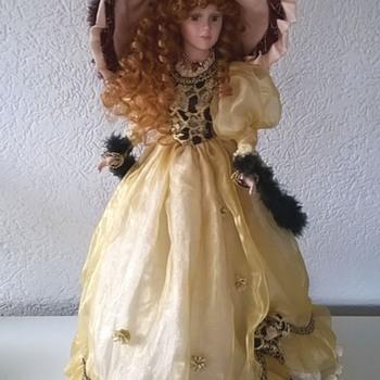 Bisque Doll, Victorian Fashion - Dolls