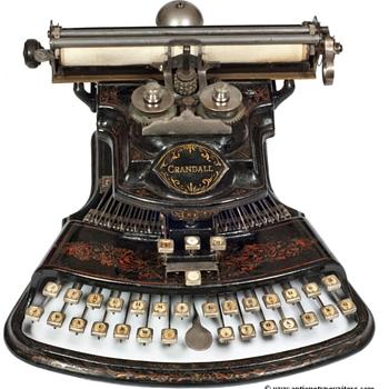 Crandall 1 typewriter - 1883