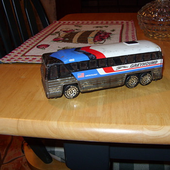 buddy l greyhound bus - Model Cars