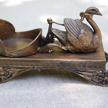 Meriden swan - Figurines