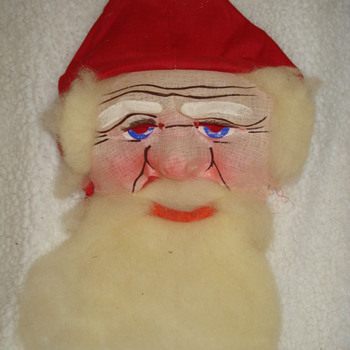 "SANTA CLAUS MASK  ""Merry Christmas! CW Friends"" - Christmas"