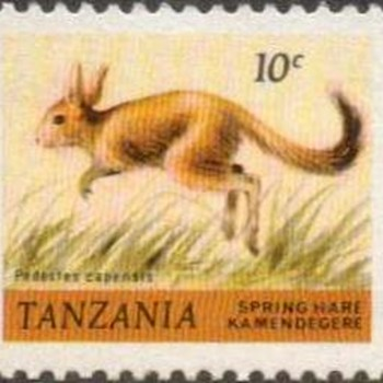 "1980 - Tanzania ""Fauna"" Postage Stamps - Stamps"
