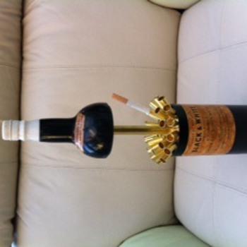 Black and White whisky novelty cigarette dispenser? - Advertising