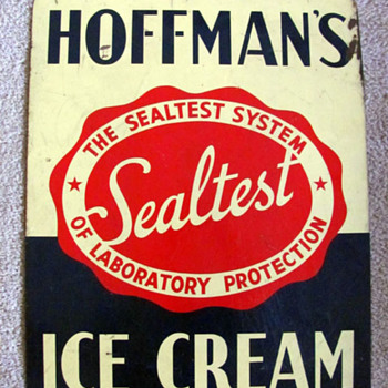 Hoffman's Ice Cream Sign - Signs
