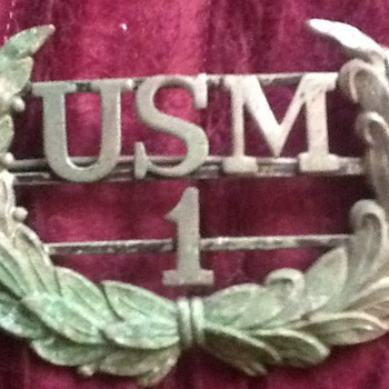 USM pin  - Military and Wartime