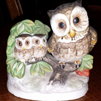Ceramic Owl Figurine - Animals