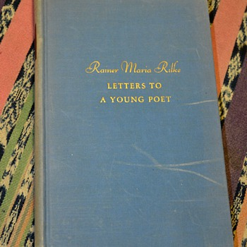 "1934 American Printing of ""Letters to a Young Poet' by Rainer Maria Rilke"