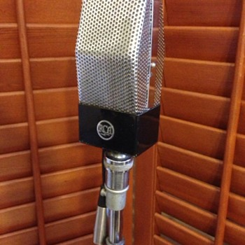 Vintage Rca 44jr microphone and Altec 639 birdcage microphone - Electronics