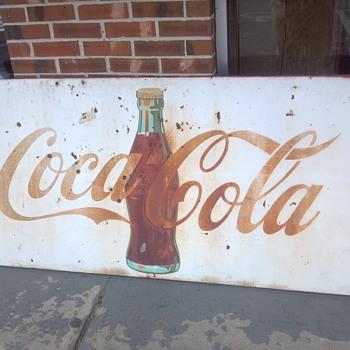 Help Coke Sign - Coca-Cola