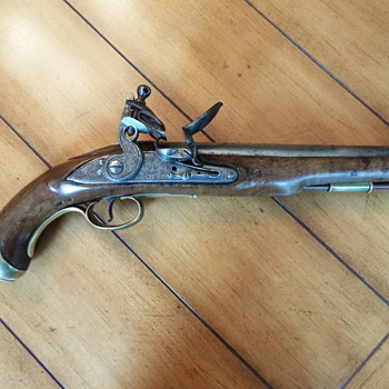 Tower Flintlock Pistol   - Military and Wartime