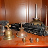 Bells,oil cans, roof bullets ,and train