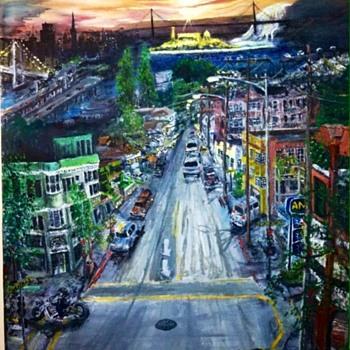 """""""Alcatraz & Telegraph"""" - Fine Art"""